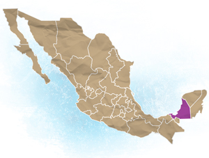 Yucatan Location