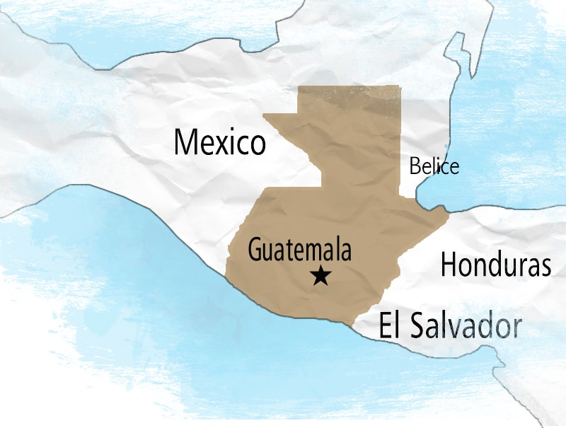 Guatemala Location