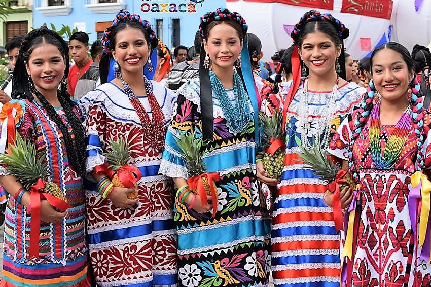 Baile flor de pina guelaguetza festival textile for 2017 mexican heritage night t shirt