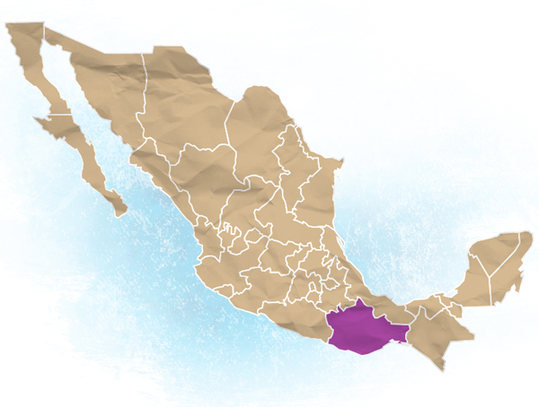 Oaxaca Location